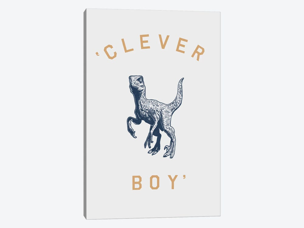 Clever Boy by Florent Bodart 1-piece Canvas Art