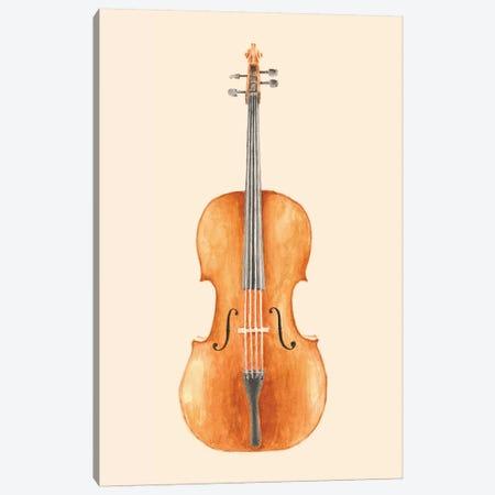 Cello Canvas Print #FLB18} by Florent Bodart Canvas Artwork