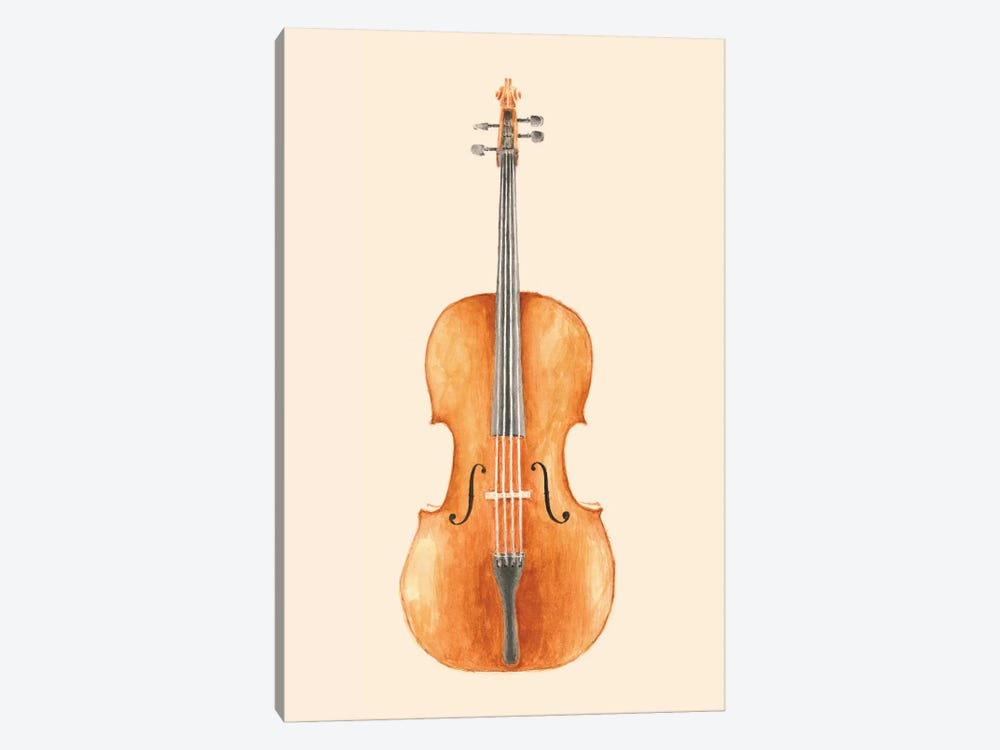 Cello by Florent Bodart 1-piece Art Print