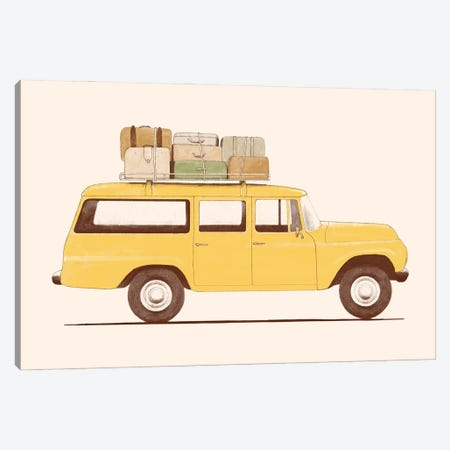 Summer Car Canvas Print #FLB190} by Florent Bodart Canvas Art