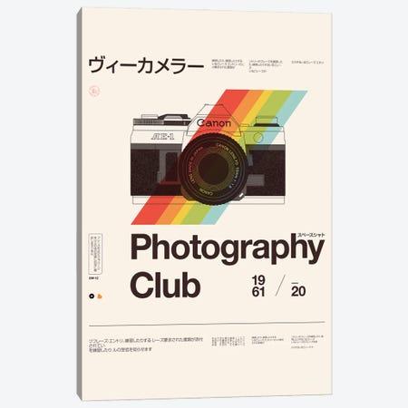 Photography Club Canvas Print #FLB195} by Florent Bodart Canvas Print