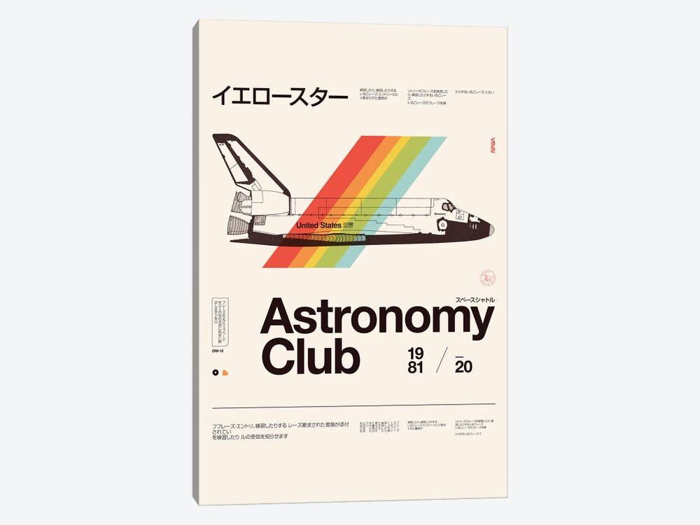 Astronomy Club by Florent Bodart 1-piece Canvas Print