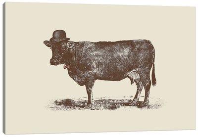 Cow Cow Nut Canvas Print #FLB19