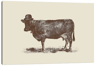 Cow Cow Nut Canvas Art Print