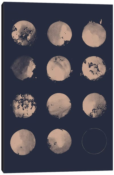 12 Moons Canvas Art Print