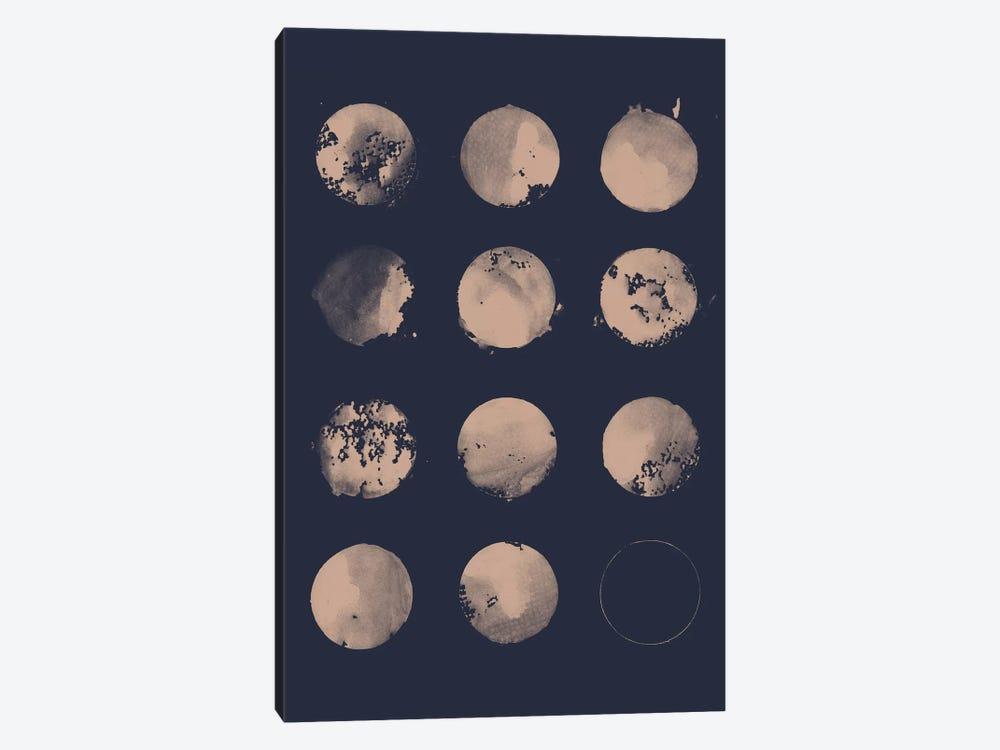 12 Moons by Florent Bodart 1-piece Canvas Artwork