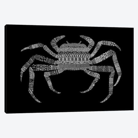 Crab Canvas Print #FLB21} by Florent Bodart Canvas Art Print