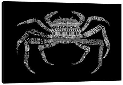 Crab Canvas Art Print