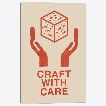 Craft With Care I Canvas Print #FLB22} by Florent Bodart Art Print