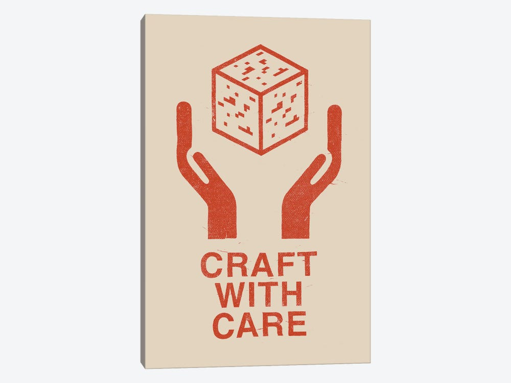 Craft With Care I by Florent Bodart 1-piece Canvas Artwork