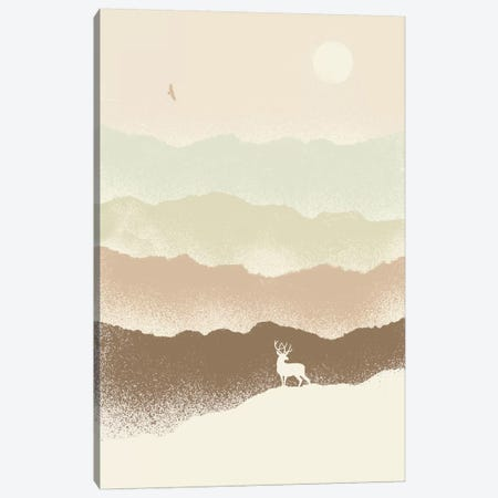 Deer Mountain Canvas Print #FLB25} by Florent Bodart Canvas Art