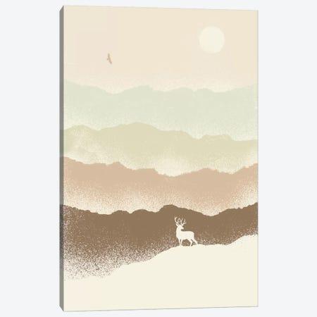Deer Mountain Canvas Print #FLB25} by Florent Bodart Canvas Art