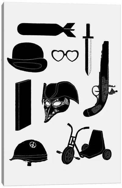 2011 - A Kubrick Odyssey Canvas Print #FLB2