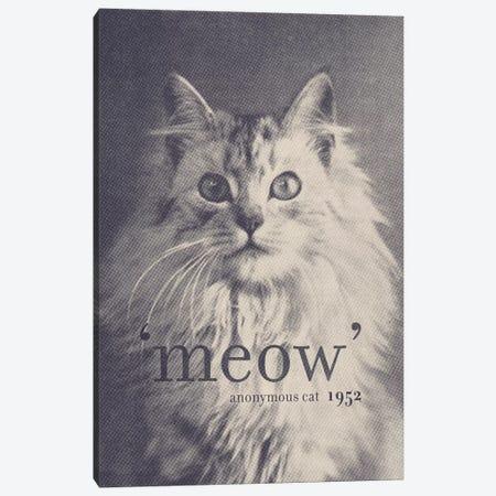 Famous Quotes (Cat) Canvas Print #FLB34} by Florent Bodart Canvas Art Print