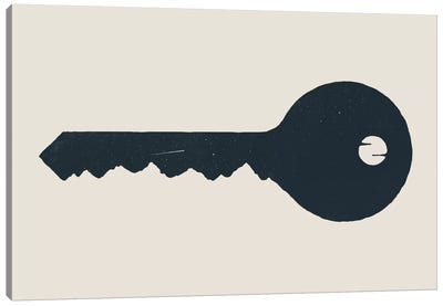 Key To The Mountain Canvas Art Print