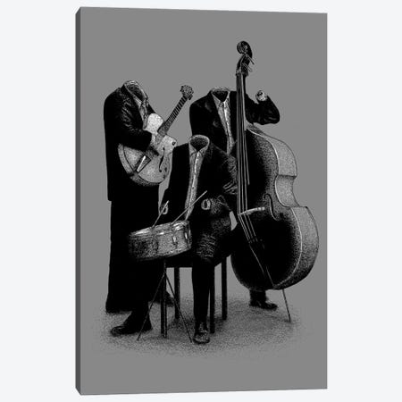 Les Invisibles Canvas Print #FLB46} by Florent Bodart Canvas Artwork