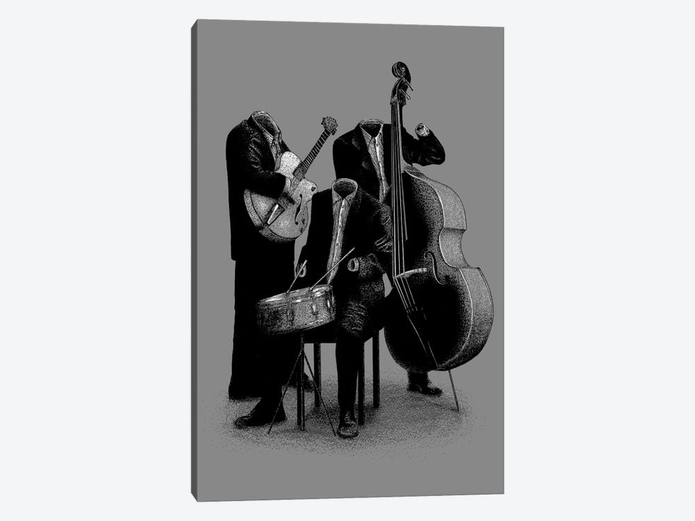 Les Invisibles 1-piece Canvas Artwork