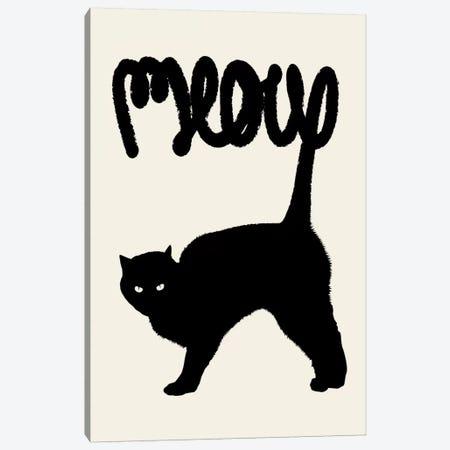 Meow Canvas Print #FLB49} by Florent Bodart Art Print
