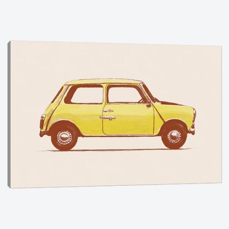 Mini - Mr Bean's Canvas Print #FLB50} by Florent Bodart Canvas Artwork