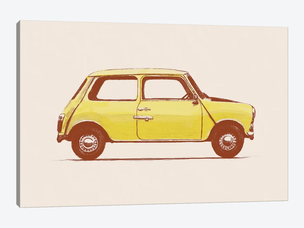 Mini - Mr Bean's by Florent Bodart 1-piece Canvas Print