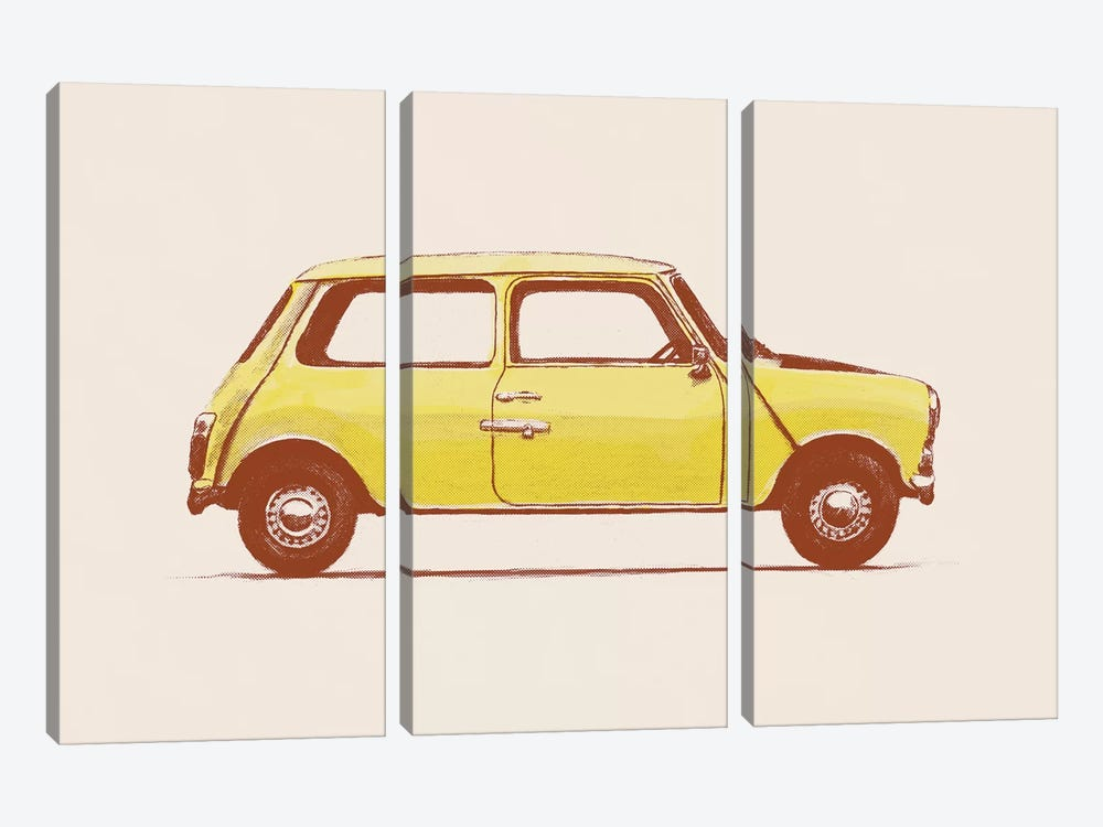 Mini - Mr Bean's by Florent Bodart 3-piece Canvas Print