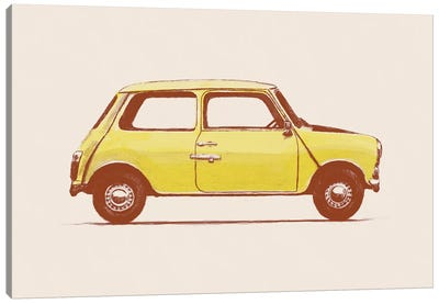 Mini - Mr Bean's Canvas Art Print