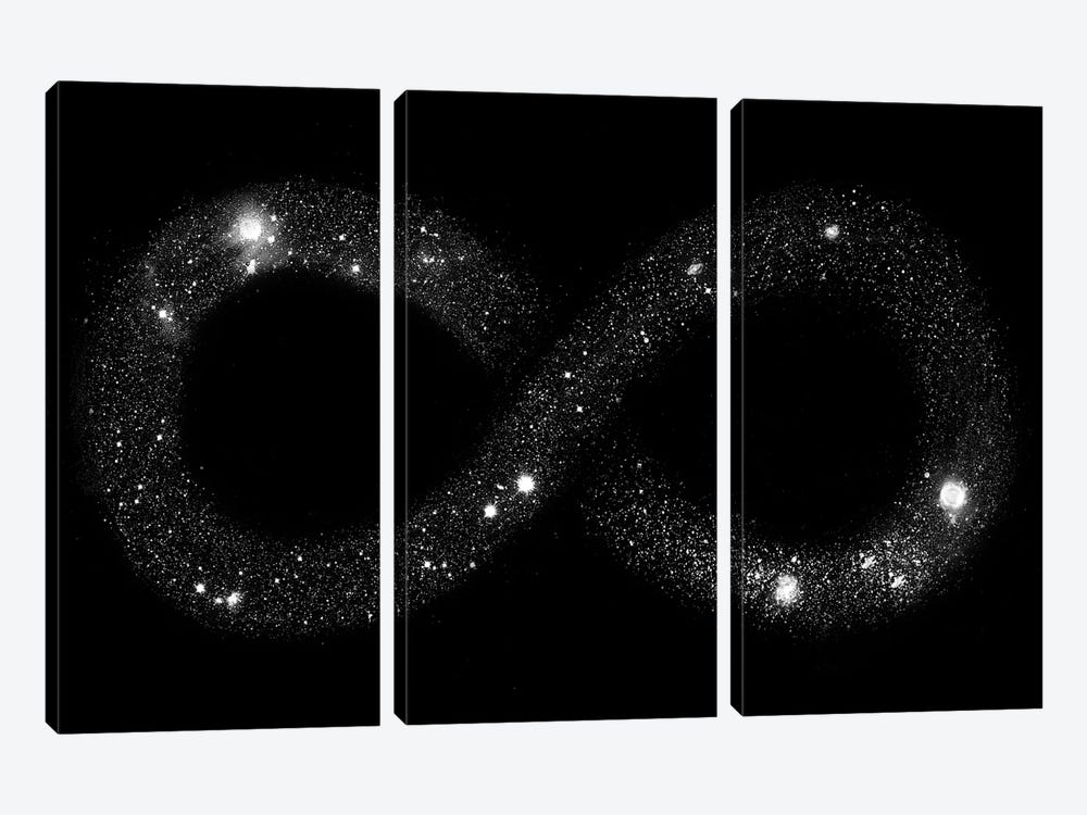 Universe Infinity by Florent Bodart 3-piece Canvas Art