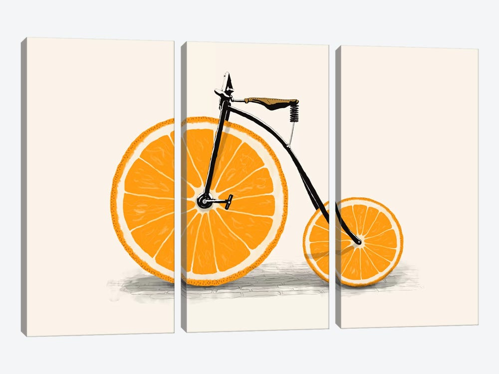 Vitamin by Florent Bodart 3-piece Canvas Print
