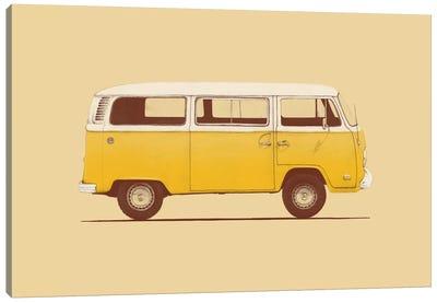 Yellow Van Canvas Art Print