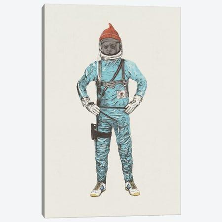 Zissou In Space Canvas Print #FLB59} by Florent Bodart Canvas Art