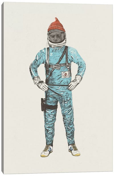 Zissou In Space Canvas Art Print