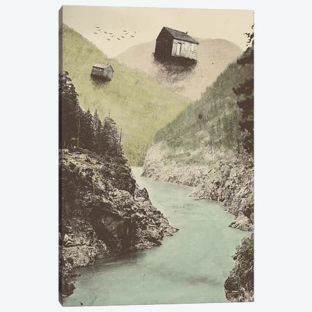 Anti-gravity Canvas Print #FLB5} by Florent Bodart Canvas Wall Art