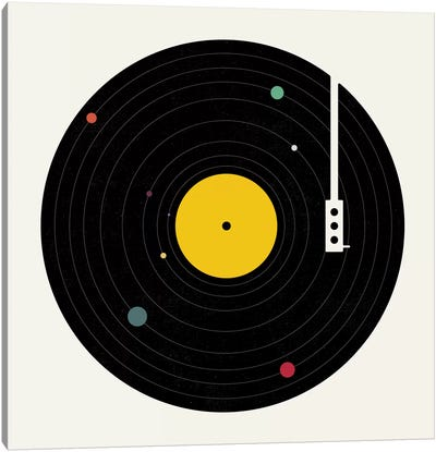 Music Everywhere by Florent Bodart Canvas Art