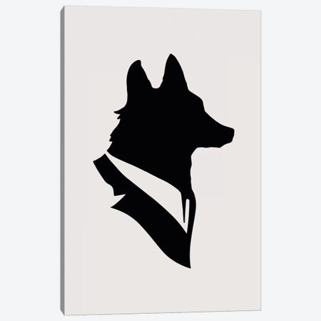 Monsieur Renard Canvas Print #FLB68} by Florent Bodart Art Print