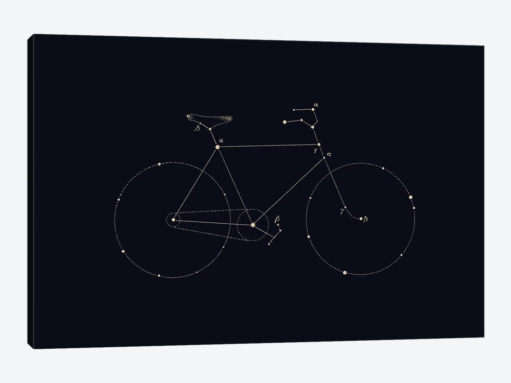 Bike Constellation by Florent Bodart 1-piece Art Print