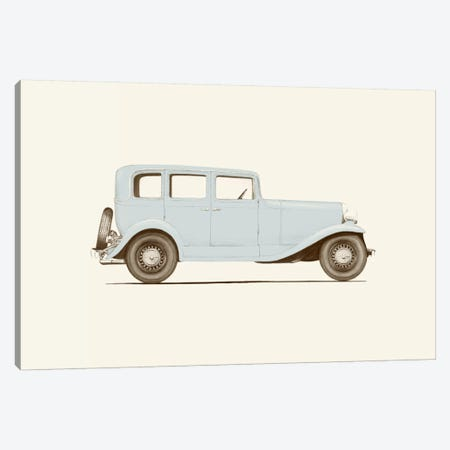 1930s Car Canvas Print #FLB77} by Florent Bodart Canvas Print