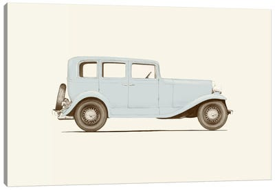 1930s Car Canvas Art Print