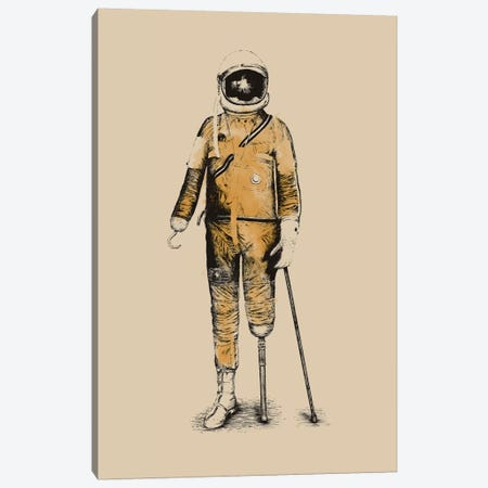 Astropirate Canvas Print #FLB7} by Florent Bodart Canvas Wall Art