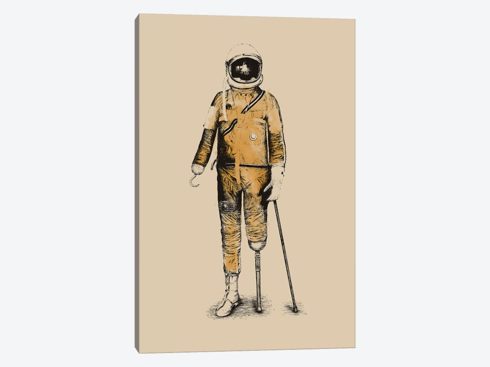 Astropirate by Florent Bodart 1-piece Canvas Art