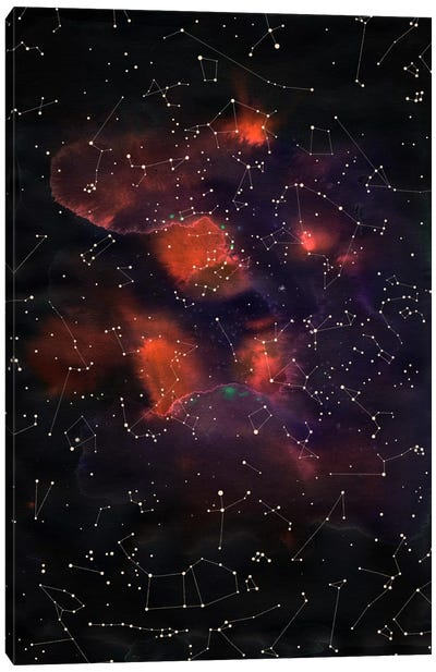 Le Cosmos Canvas Art Print