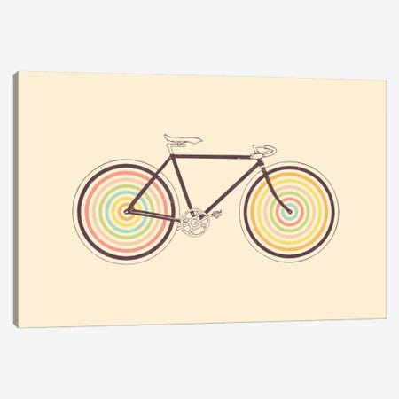 Velocolor Canvas Print #FLB86} by Florent Bodart Canvas Art