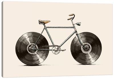 Velophone Canvas Art Print
