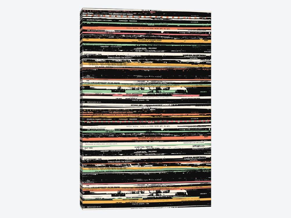 Recordsss by Florent Bodart 1-piece Canvas Wall Art