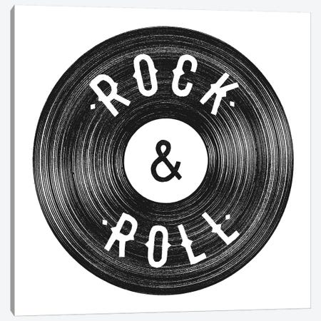 Rock & Roll Canvas Print #FLB94} by Florent Bodart Art Print