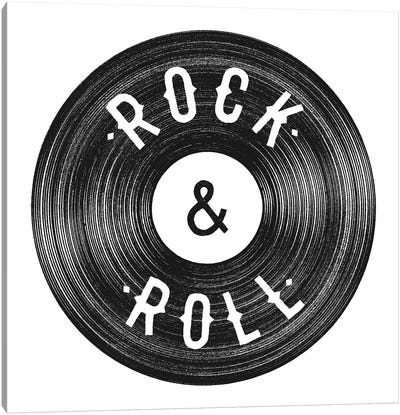 Rock & Roll Canvas Art Print