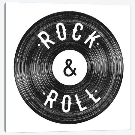 Rock & Roll Canvas Print #FLB94} by Florent Bodart Art Print