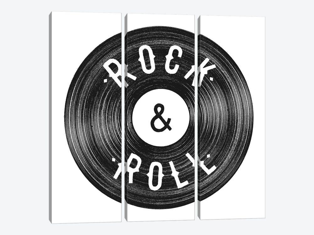 Rock & Roll by Florent Bodart 3-piece Canvas Art Print