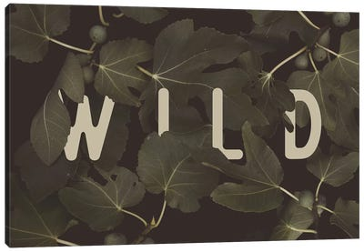 WILD Canvas Art Print