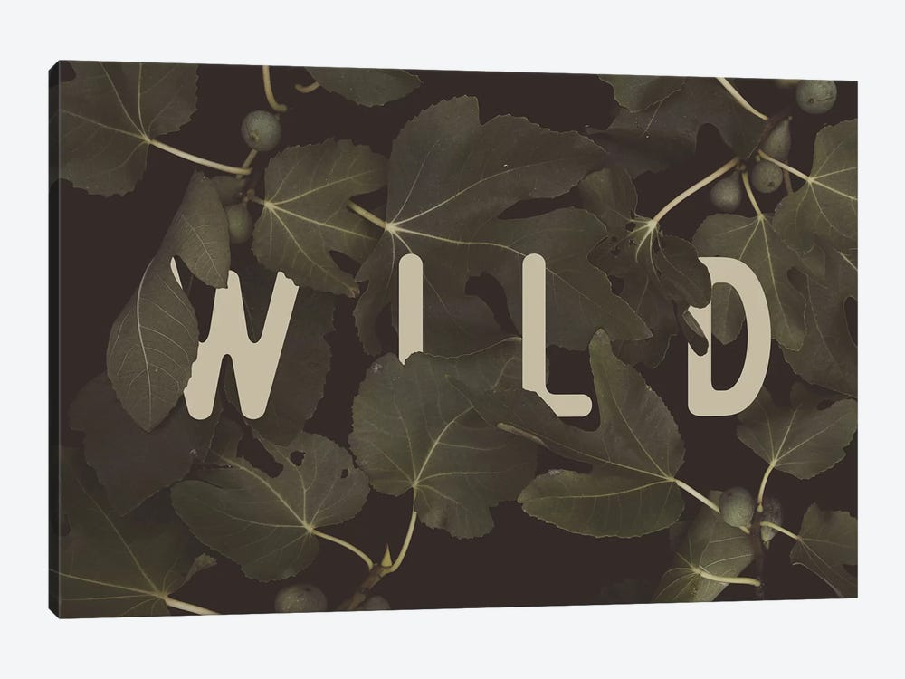 WILD 1-piece Canvas Artwork