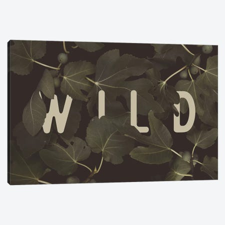 WILD Canvas Print #FLB99} by Florent Bodart Canvas Art